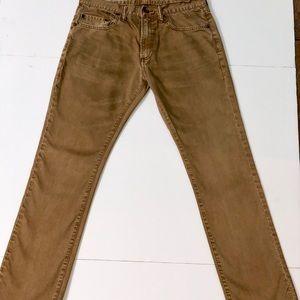 Worker Brown Slim Gap Jeans 30x30